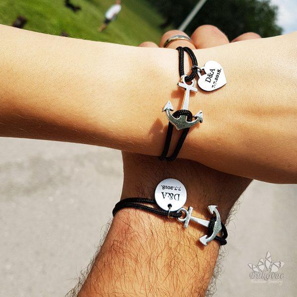Sidro narukvica za nju i njega - Bukovac Fashion Jewelry - BFJ