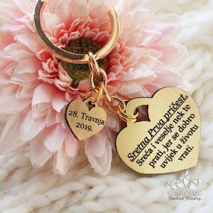 Privjesak ljubavi s porukom - Bukovac Fashion Jewelry