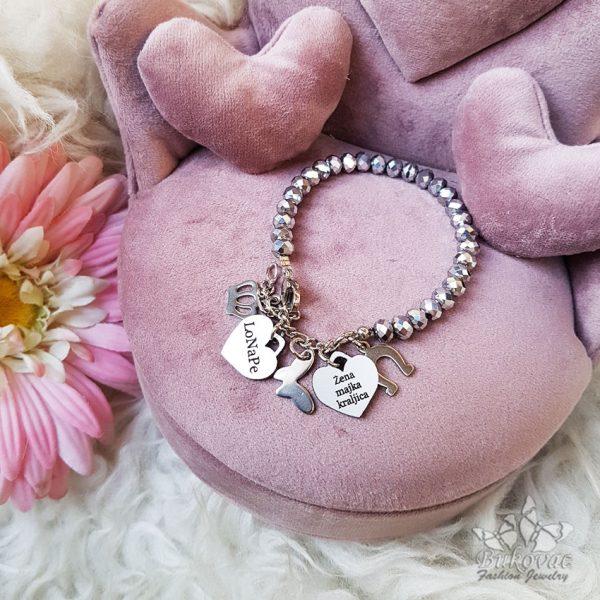 Classic narukvica u srebrnoj boji - Bukovac Fashion Jewelry