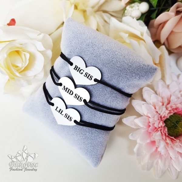 Sisters narukvice - Bukovac Fashion Jewelry - BFJ