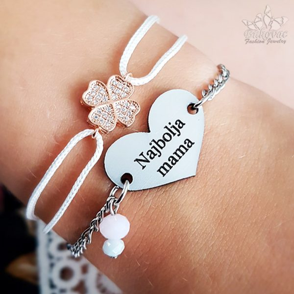 Najbolja mama - narukvica - Bukovac Fashion Jewelry | BFJ