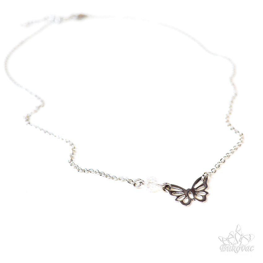 Butterfly Necklace - Bukovac Fashion Jewelry