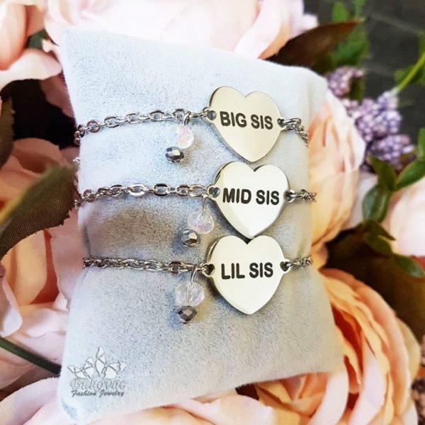 Sisters komplet narukvica _ Bukovac Fashion Jewelry-BFJ
