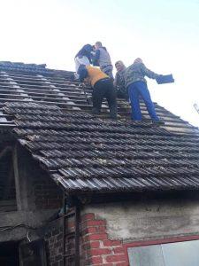 Potres Banovina - Jaskanci i Svetojanci u akcjii